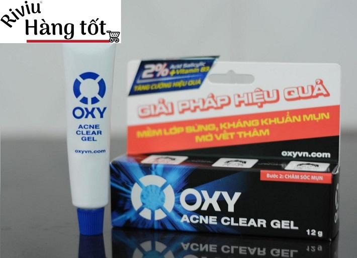 Thuốc trị mụn và vết thâm cho nam - Oxy