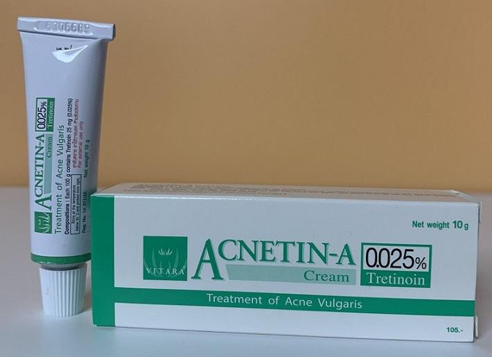 Kem trị mụn Acnetin-A Tretinoin 0.025%