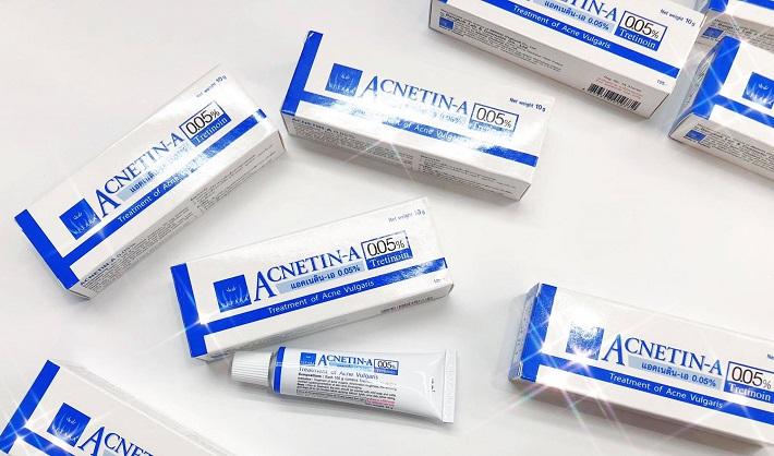 Kem trị mụn Acnetin-A Tretinoin 0.05%