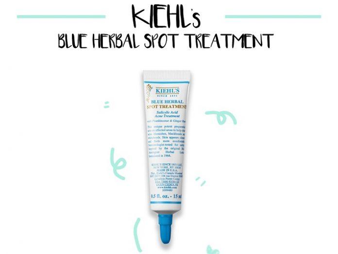 Kem trị mụn Kiehl's Blue Herbal Spot Treatment