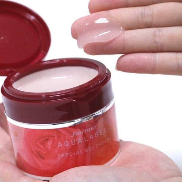 kem dưỡng da Shiseido Aqualabel vỏ đỏ