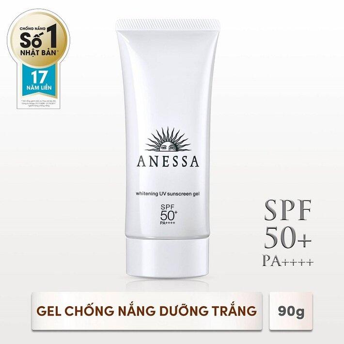 kem chống nắng dạng gel dưỡng trắng ANESSA Whitening UV Sunscreen Gel SPF 50+ PA++++